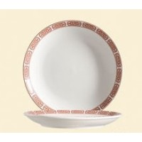 C.A.C. China 105-16C - Red Gate Plate 10