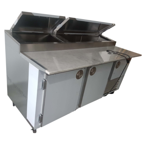 Universal Coolers Mpp 6 72 Quot Pizza Prep Table Marble Top