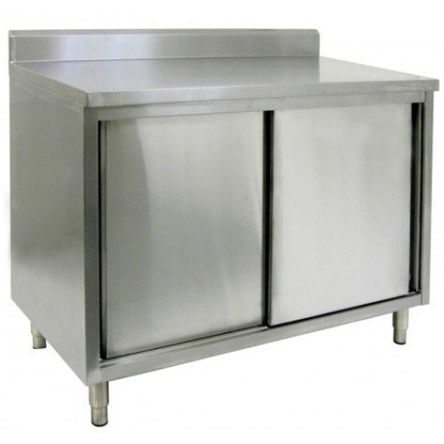 """Commercial Stainless Steel Kitchen Cabinets: 30"""" X 60"""" Stainless Steel Cabinet"""