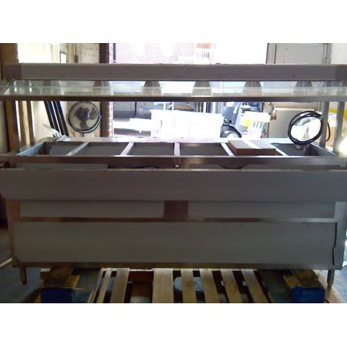 Buffet Steam Table With Sneeze Guard Gallery Table