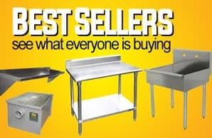 Restaurant Equipment Best Sellers