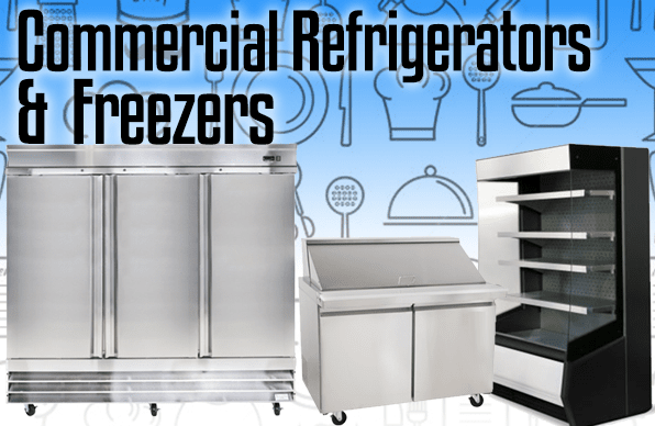 Commercial Refrigerators & Commercial Freezers