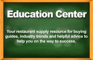 Restaurant Equipment Education